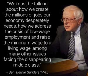 Bernie-middle class